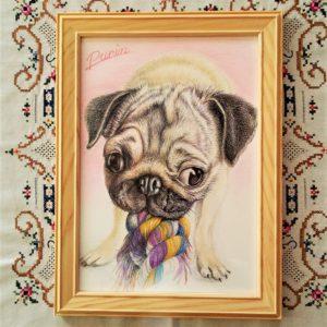 ペット肖像画